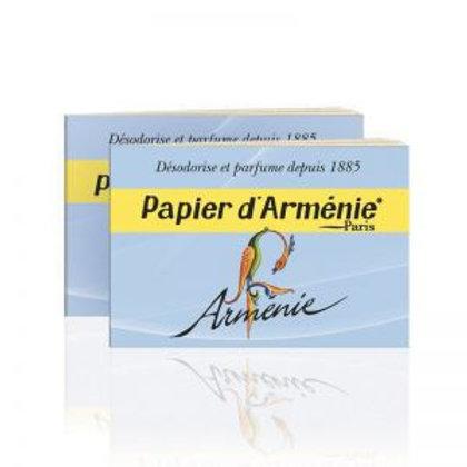 """Papier d'Arménie  """"Arménie""""  - 2 carnet de 36 bandes"""