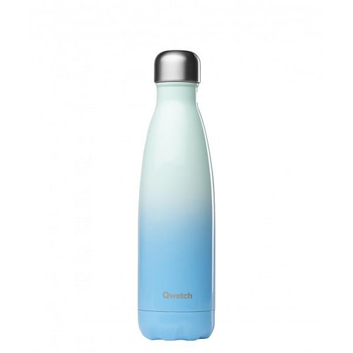 Bouteille inox isotherme 500ml/Sky bleu - Qwetch
