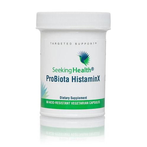 Seeking Health - ProBiota HistaminX - 60 Capsules Végétariennes