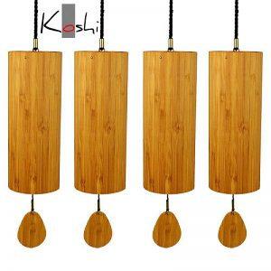 """Set de 4 carillons """"Koshi"""""""