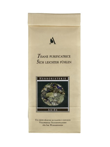 Tisane purificatrice - Herboristerie Ariès - 60g