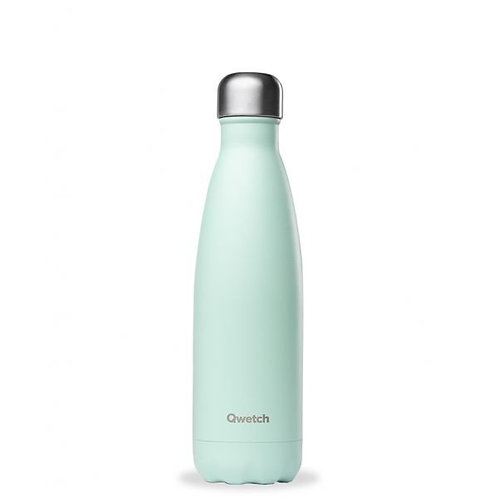 Bouteille inox isotherme 500ml/Pastel vert - Qwetch