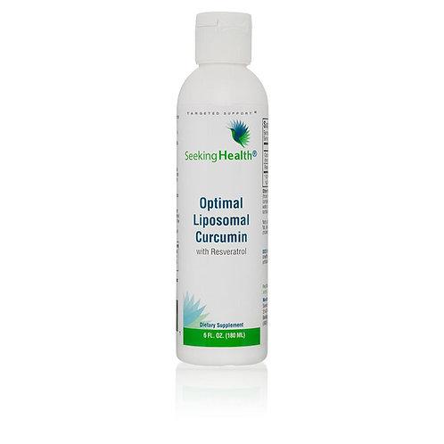 Seeking Health - Optimal Liposomal Curcumin with Resveratrol - 30 portions