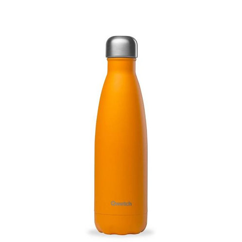 Bouteille inox isotherme 500ml/Pop orange - Qwetch