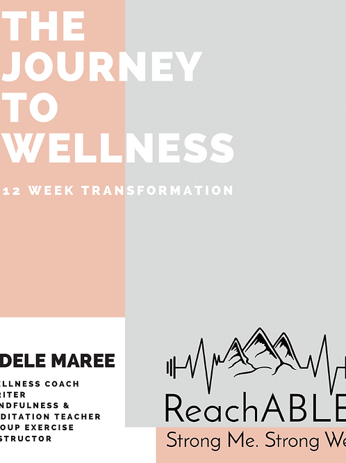 The Journey to Wellness Journal
