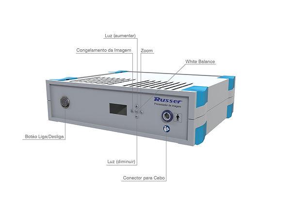 Processador de Imagem R23 e Endoscopios
