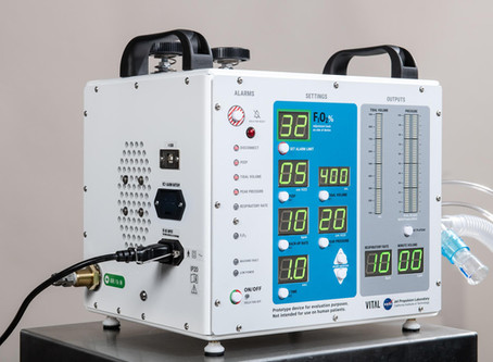 Brazilian Partnership to Begin Producing NASA-Designed COVID-19 Ventilator