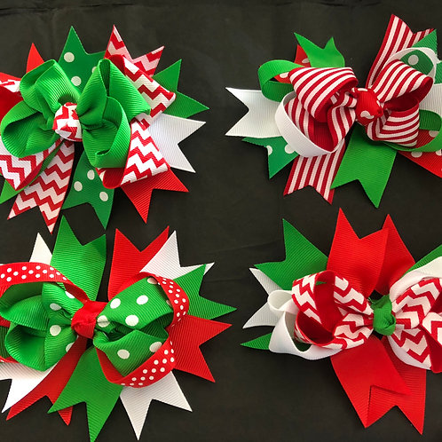 Christmas Fussy Bows
