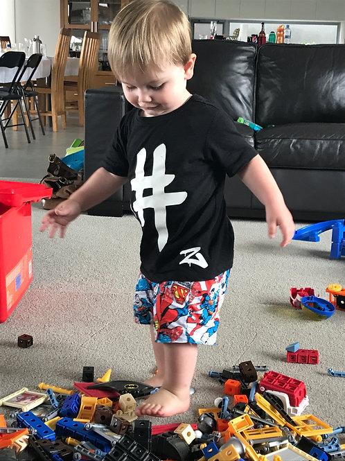 Superman Shorts  (Sizes NB-10)