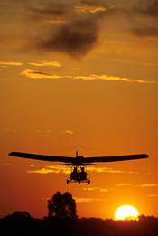 Sunset Deltavliegen