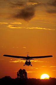 Sunset Hang Gliding