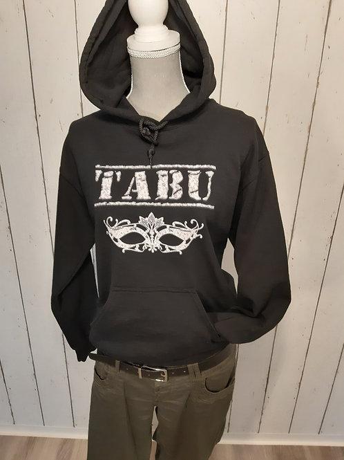 """Hoodie """"TABU"""" mit Muster"""