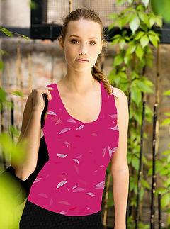 Tank Top pink muster frauen mode.jpg