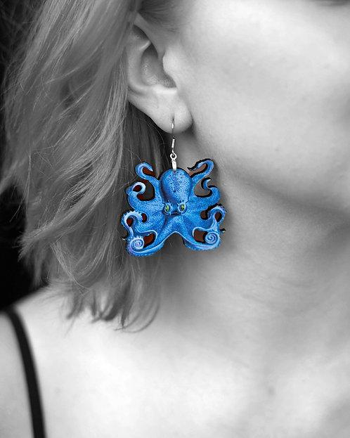 """""""Kraken"""" Earrings"""
