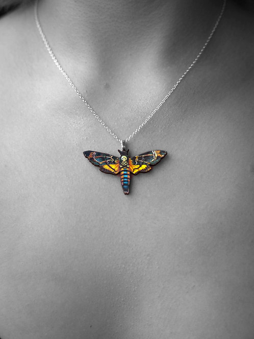 """Silence of the Lambs"" Pendant Necklace"