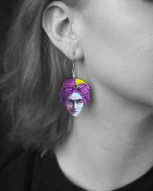 """""""Zoltar"""" Earrings"""