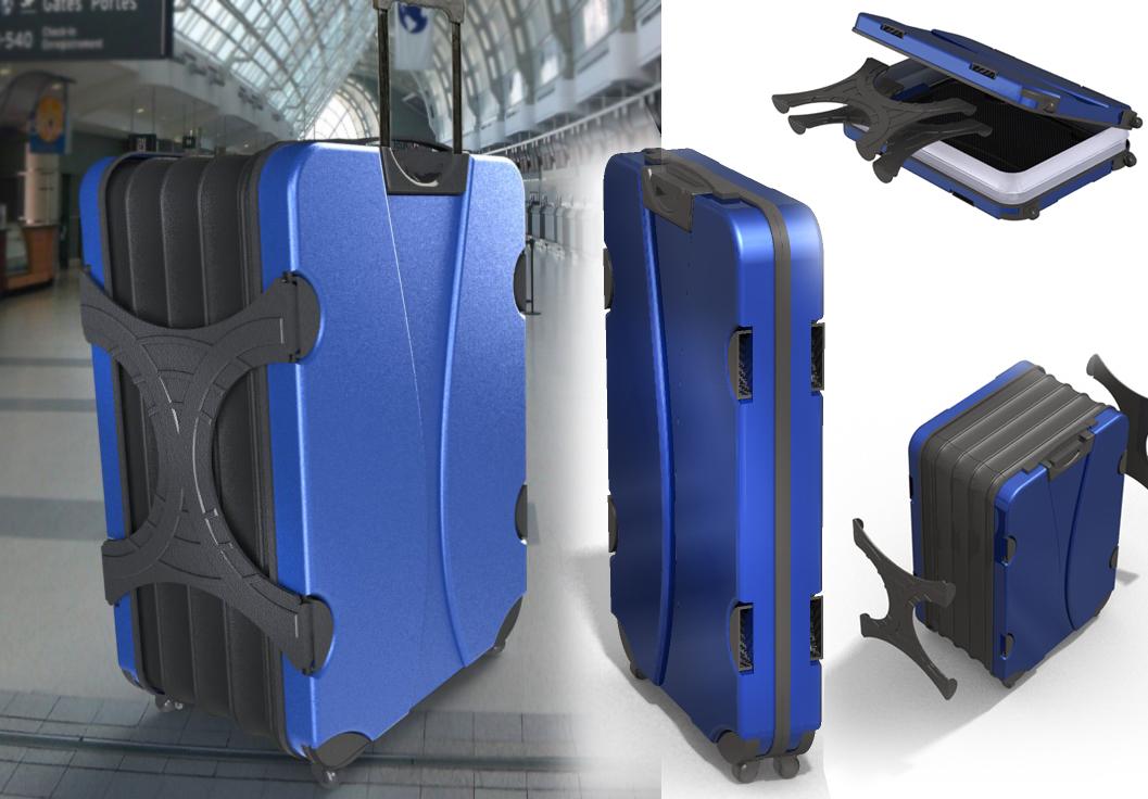 flat suitcase c6b