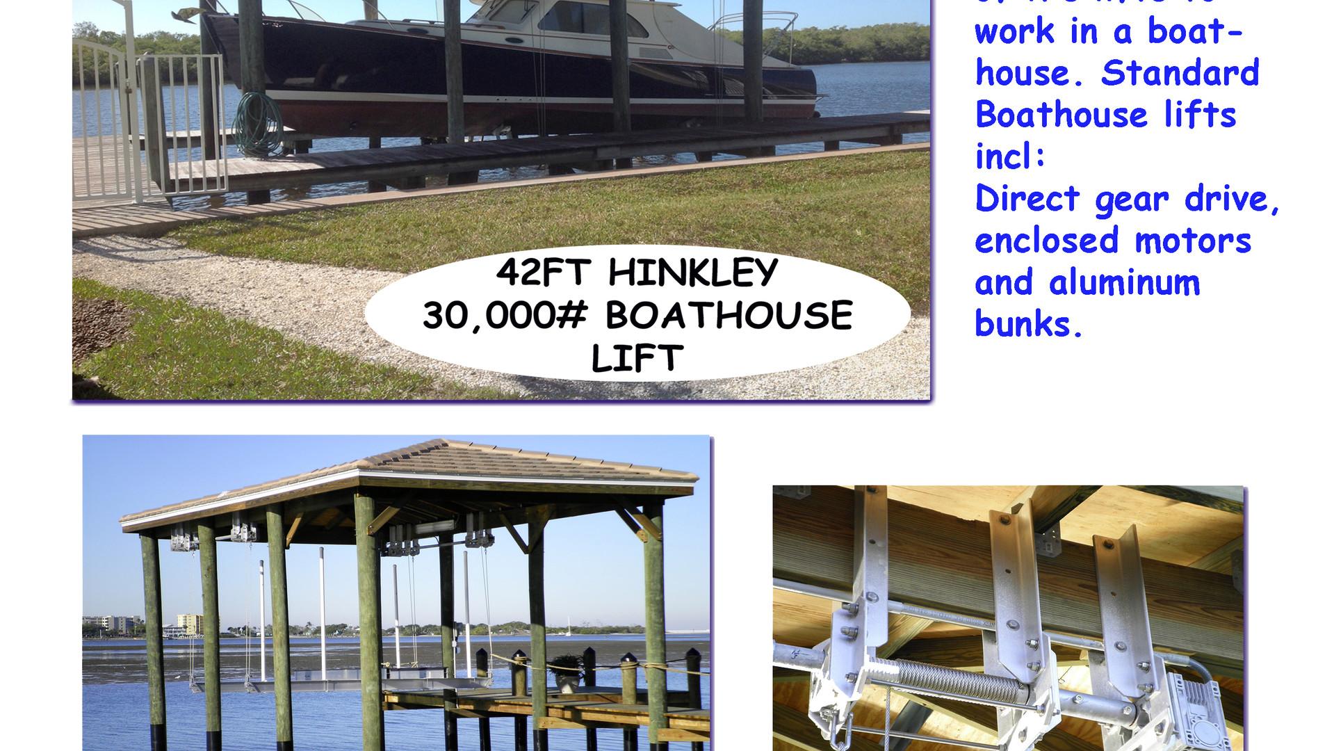 Boat House Lift Brochure