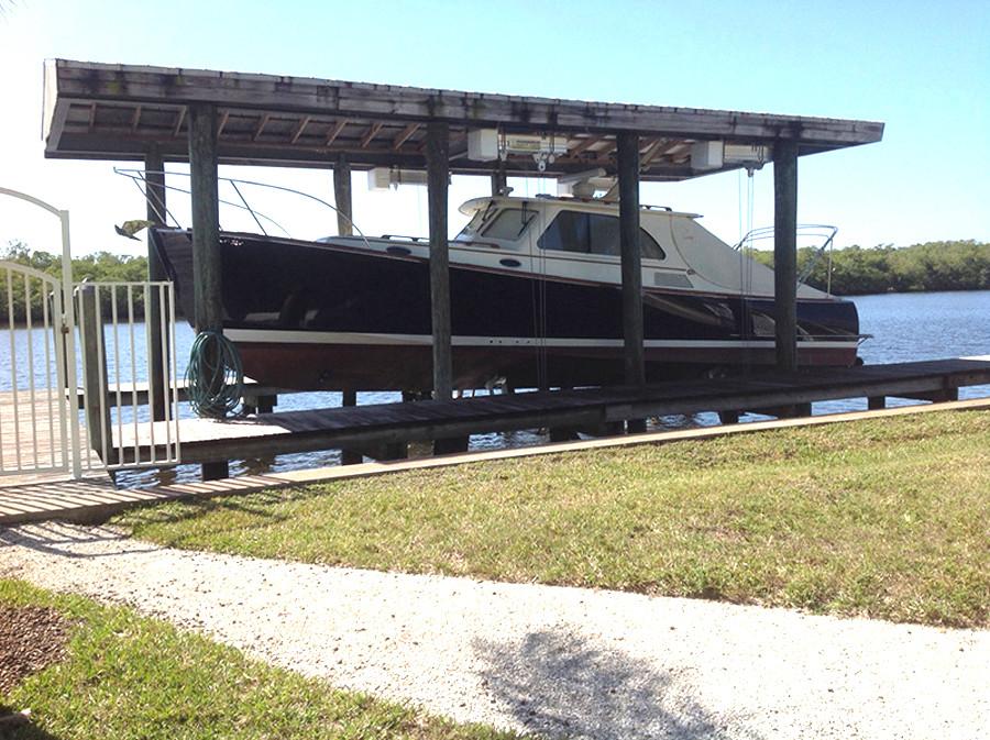 Boat House Lift