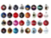 bouel de noël personnalisé logo entreprise