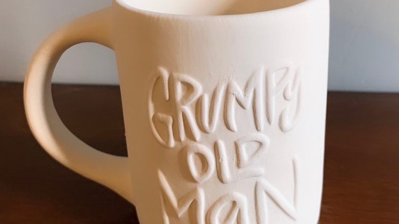 """Grumpy Old Man"" Mug"