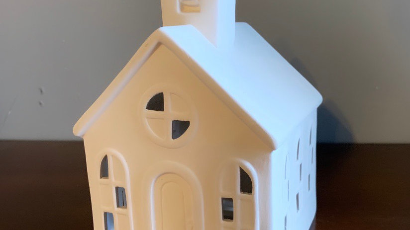 Light Up Church (comes with battery operated lights)