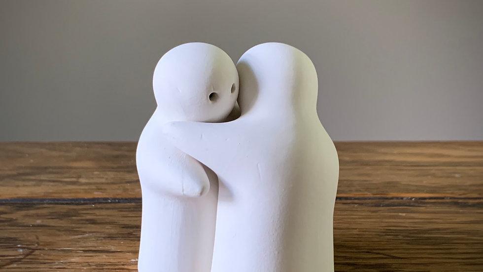 Hugging Salt and Pepper