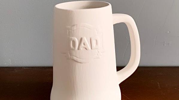 """""""Dad"""" Beer Stein"""