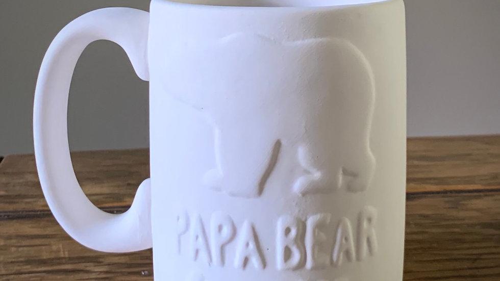 """""""Papa Bear"""" Mug"""