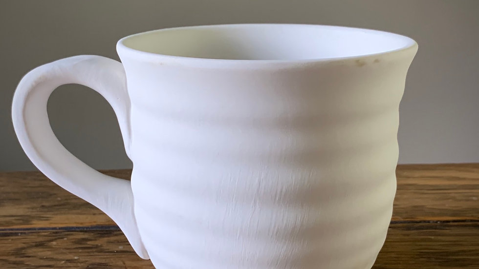 Mug, Ribbed
