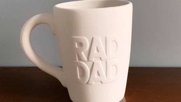 """""""Rad Dad"""" mug"""
