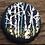Thumbnail: Hand-embroidered Upcycled Bottle Cap Pin
