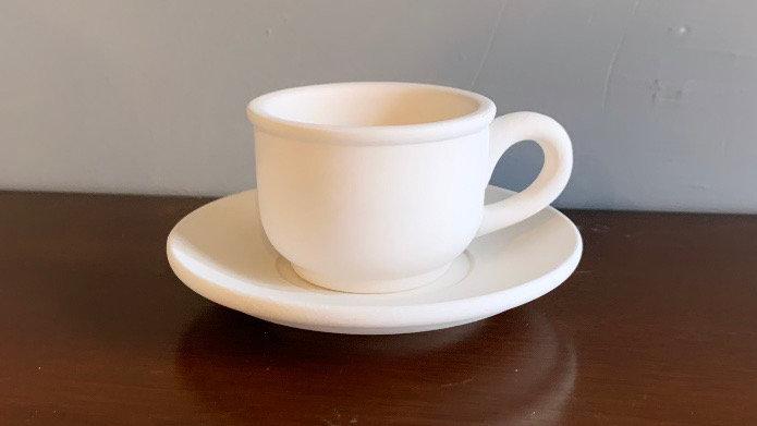Mini Espresso Cup and Saucer