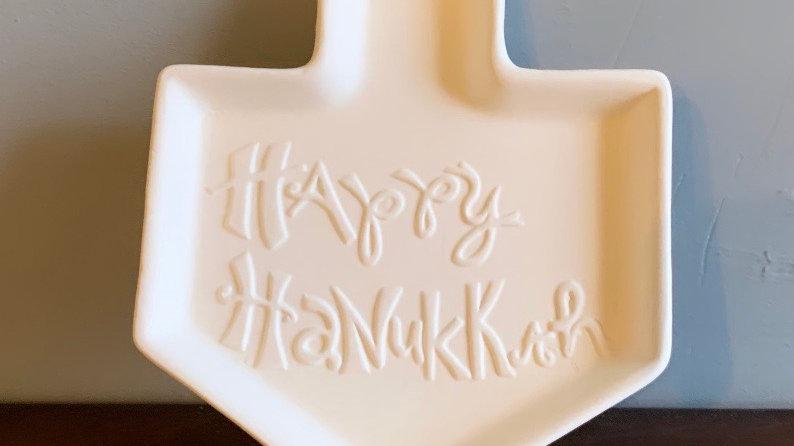 """Happy Hanukkah"" Plate"