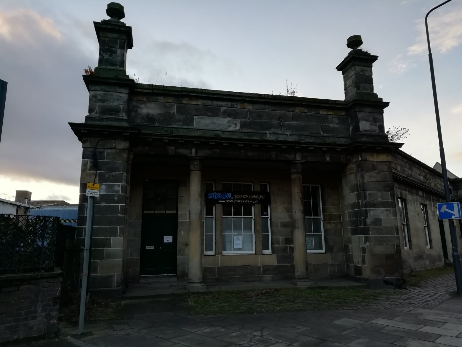 Citadel Railway Station, Commercial Street, Leith