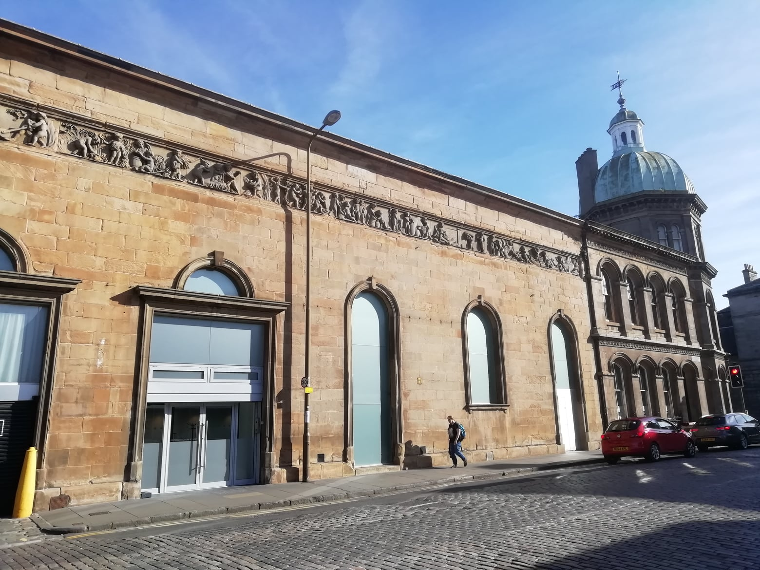 Corn Exchange, Constitution Street, Leith