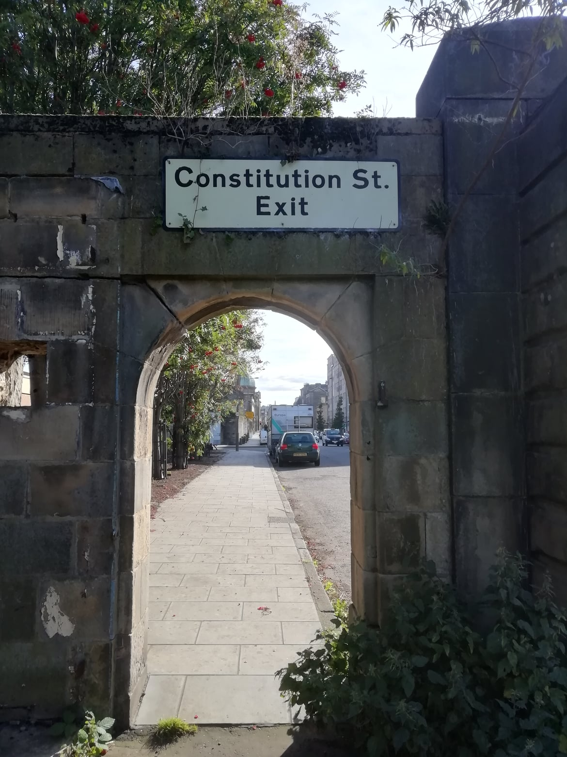 Constitution Street Arch, Leith