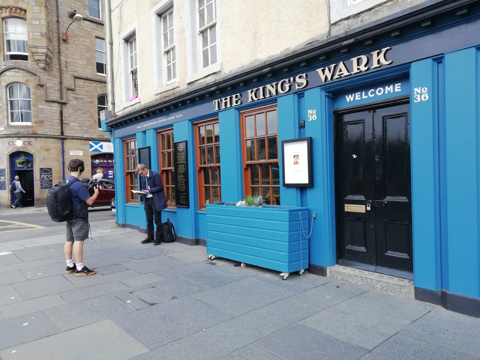 The King's Wark, The Shore, Leith