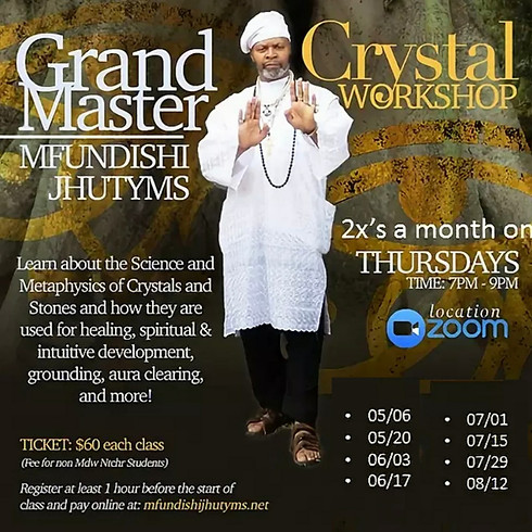 Crystal Workshop 8