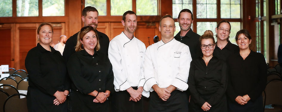 Chef Brian Farquharson and the talented staff of Red Canyon Catering