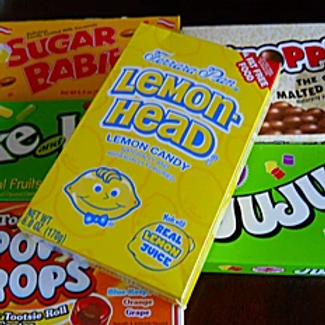Variety of Boxed Candies