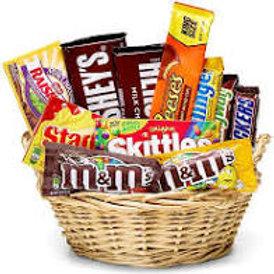 Snacks & Stuff Candy Crazy Basket