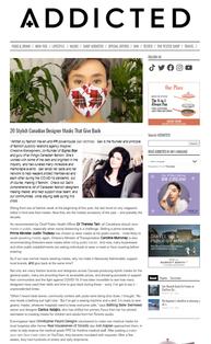 20 Stylish Canadian Designer Masks That Give Back