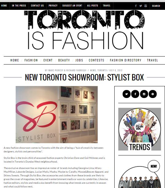 Toronto Is Fashion | July 2013