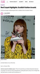 Red Carpet Highlights: Scottish Fashion Awards