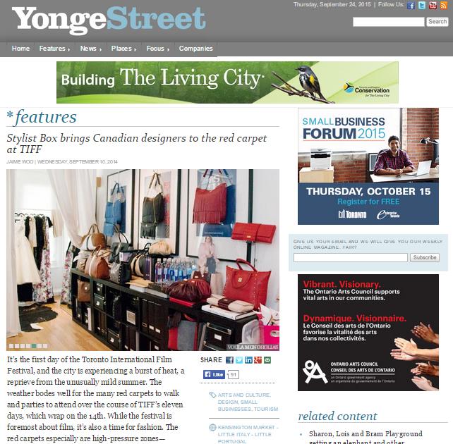 Yonge Street | September 2014