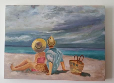 Still working on my little beach scene
