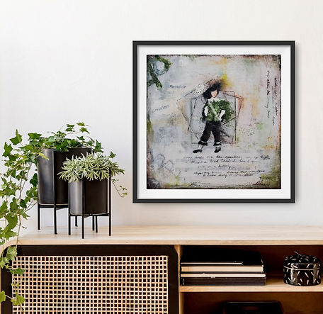 Cavalier Standing Man limited edition print