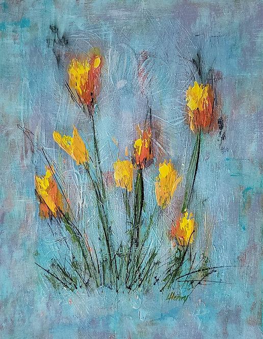 """""""Spring Arises 11""""  ~  11x14 in."""