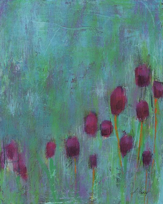 """Spring Arises 3"" vertical print"
